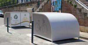 2 box à vélos pour cyclotouristes de Moissac
