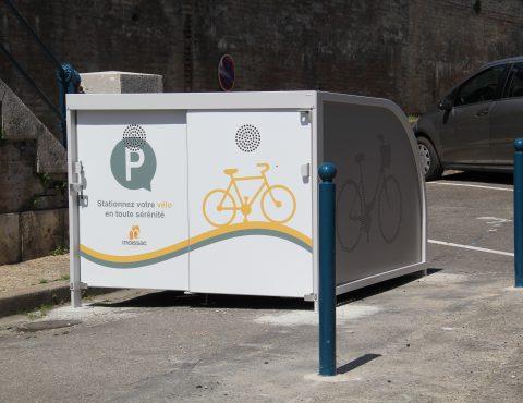 box à vélos pour cyclotouristes d'Altinnova