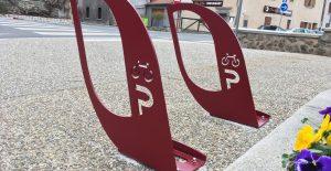 Nouveaux arceaux vélos à Saint Marcellin en Forez