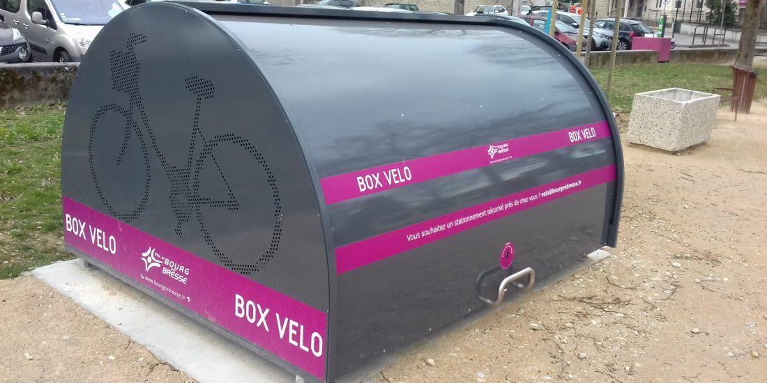 un box vélo sécurisés de Bourg en Bresse