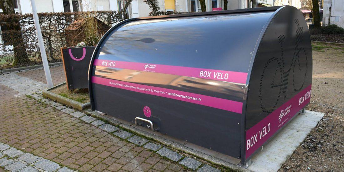 un box vélo sécurisés ALTAO Cover d'Altinnova à Bourg en Bresse