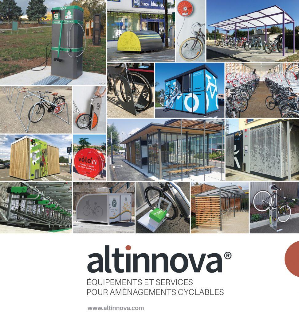 exemples d'équipements vélos pour le Forum de la Mobilité Grand Chambéry