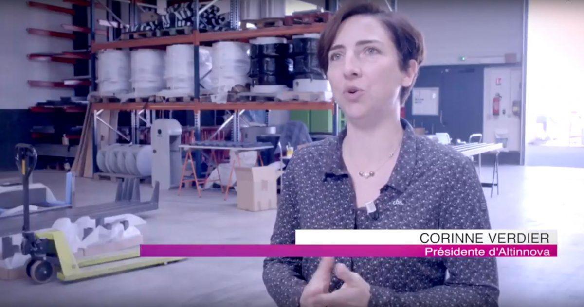 reportage vidéo sur Altinnova