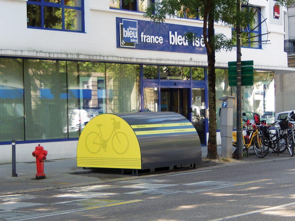 photo ALTAO Cover de l'article Altinnova révolutionne le stationnement vélo