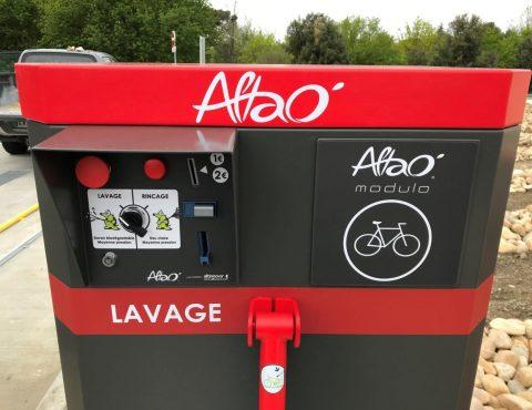 monnayeur du point de lavage vélo ALTAO® Modulo