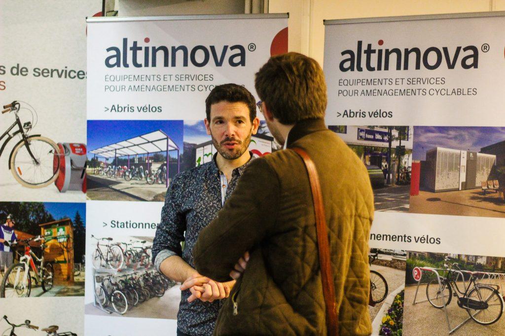 Stand Altinnova au Congrès de la FUB 2019