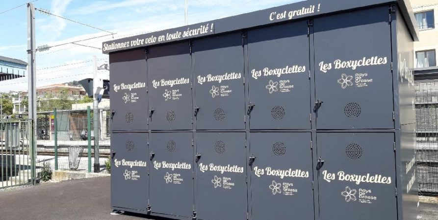 Boxyclettes de la gare de Mouans Sartoux