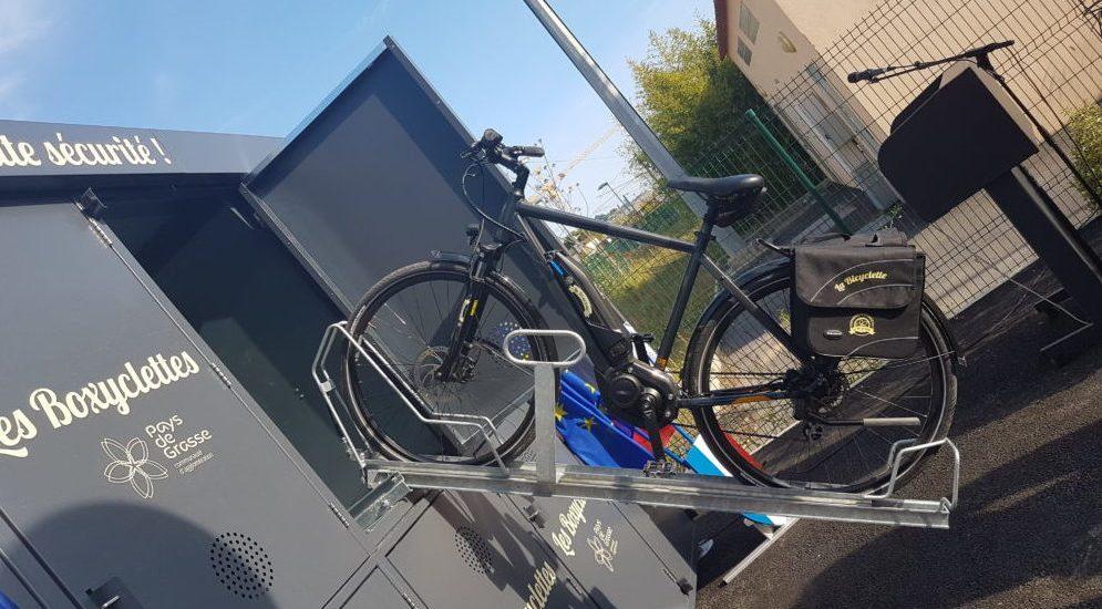 Boxyclettes avec rail coulissant sorti