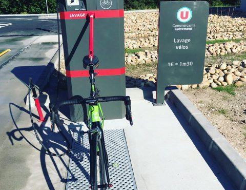 point de lavage vélo ALTAO® Modulo du magasin Utile