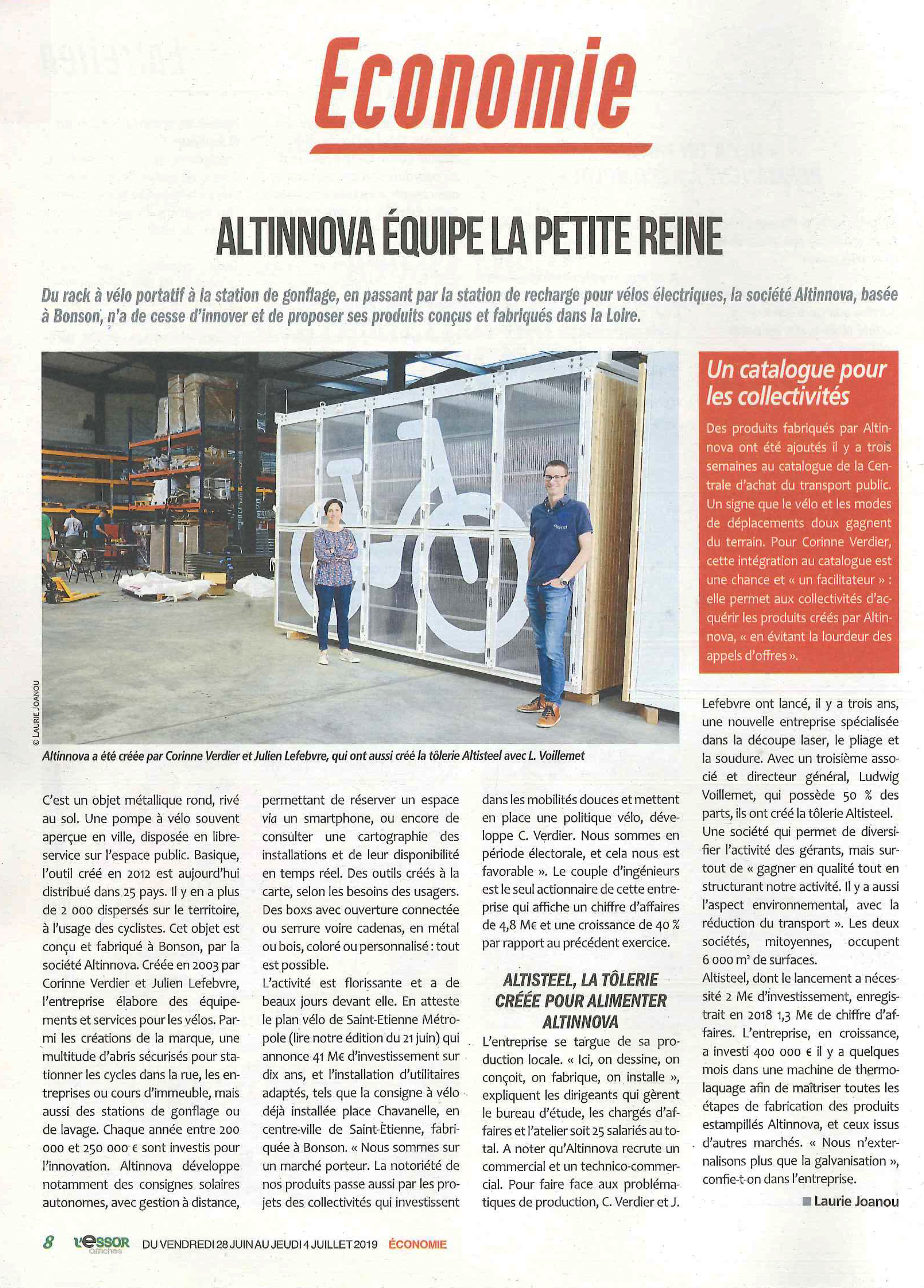 Article : Altinnova assoit son leadership
