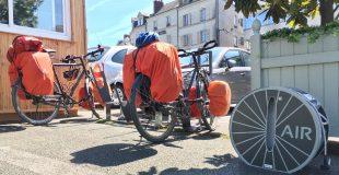 photo de la conciergerie vélo d'Angers pour les Rencontres Vélo & Territoires 2019 avec équipements Altinnova