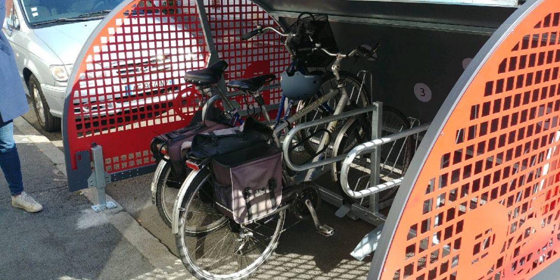 box à vélo ALTAO Cover de Lille ouvert