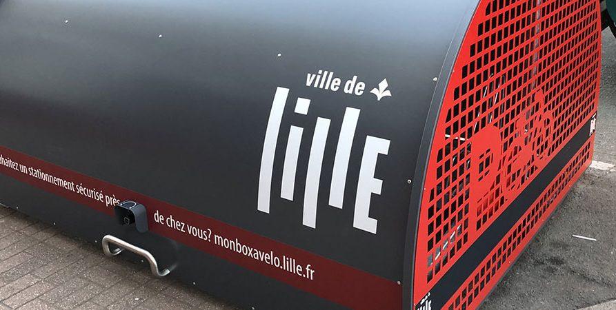 box à vélo ALTAO Cover de Lille installé