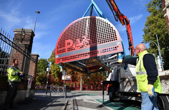installation d'un box à vélo autoportant ALTAO Cover à Lille