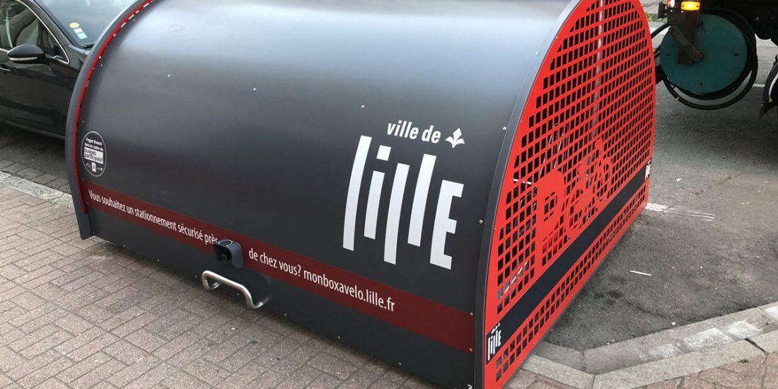 box à vélo ALTAO Cover installé à Lille