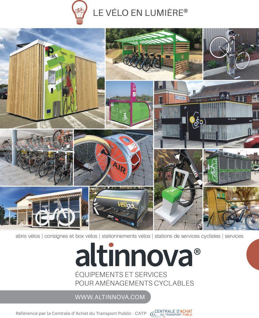 visuel Altinnova pour les Rencontres Vélo & Territoires 2019