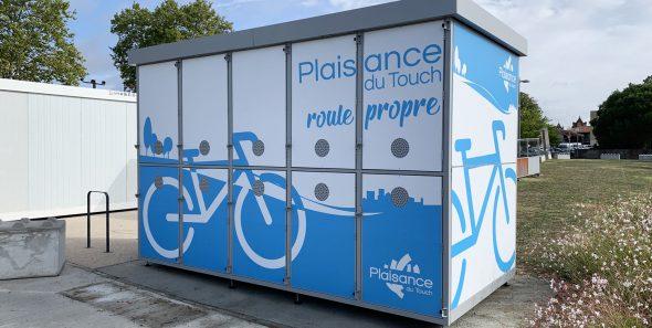 nouvelle consigne à vélos ALTAO Duplex