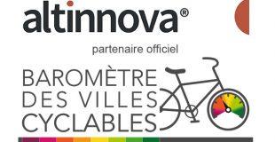 Altinnova partenaire officiel du Baromètre des villes cyclables 2019