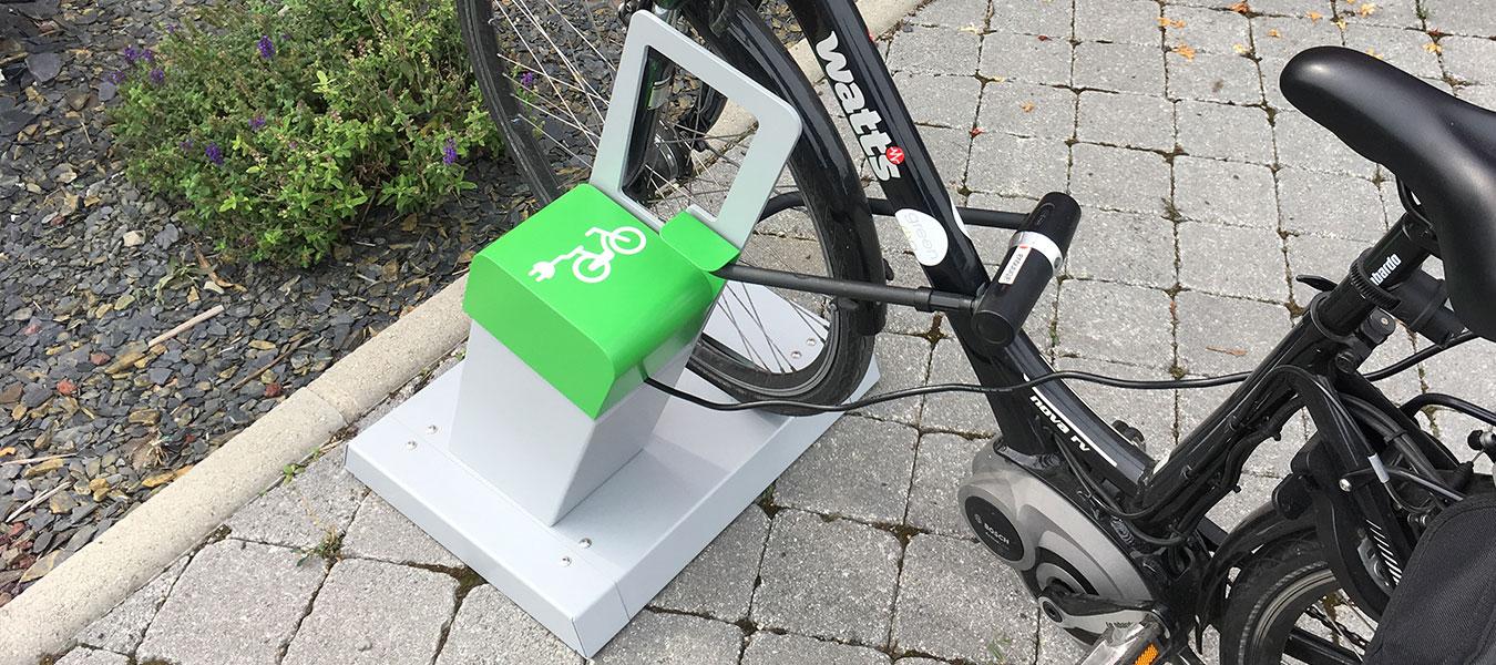 borne de recharge vélo électrique ALTAO Parco VAE