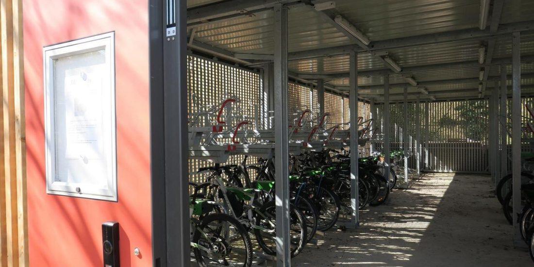 parking à vélos de laiguillage crédit le Parisien