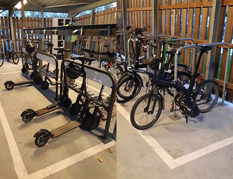 équipement pour vélos et trottinettes
