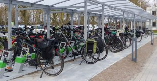 borne de recharge vélo électrique