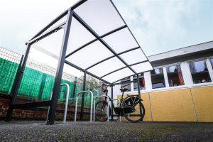 Abri vélos et arceaux de stationnement vélos d'Armentières