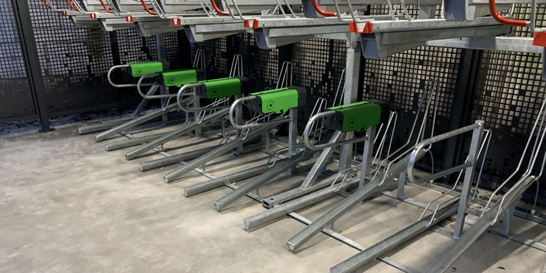 bornes de recharge pour les vélos électriques
