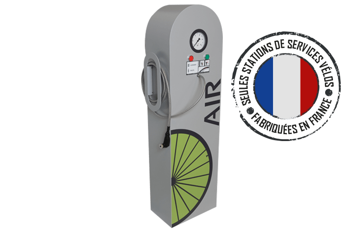 station de gonflage vélo ALTAO® Primo+