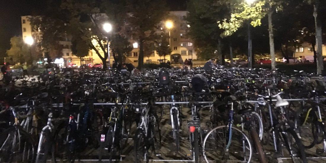 parkings vélos provisoires vélos à Grenoble