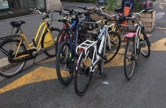 adaptation de l'offre de stationnement vélos à Grenoble