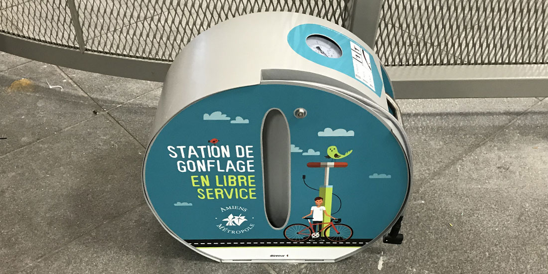 Station de gonflage ALTAO Pump personnalisée