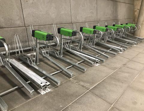 Bornes de recharge vélo électrique P VAE