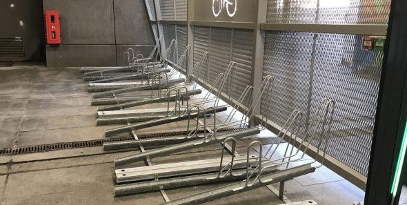 Consignes à vélos sécurisée d'Amiens