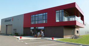 bâtiment de la société Altinnova en activité