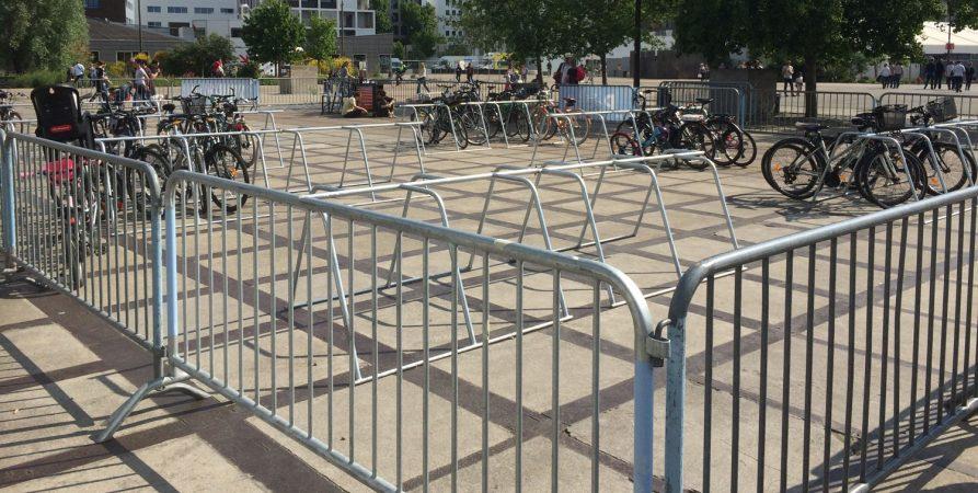 parkings vélos temporaires Nantes