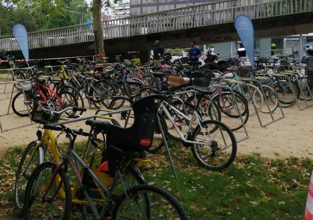 parking vélos réalisé avec des racks ALTAO Mobile