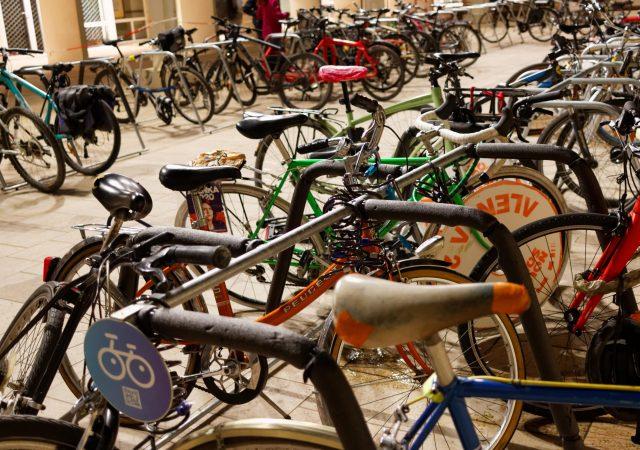 stationnement vélos temporaire sur arceaux ALTAO Mobile