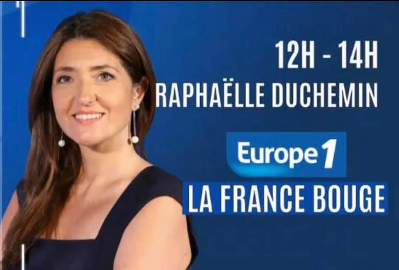 émission la France bouge avec Raphaëlle Duchemin sur Europe 1