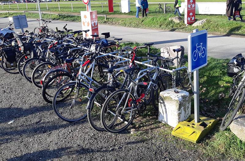 parking vélo avec rack ALTAO Mobile au Mans
