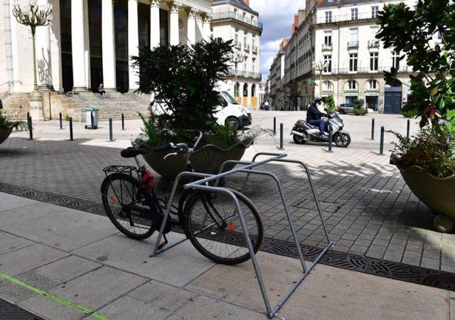 rack vélo ALTAO Mobile installé à Nantes