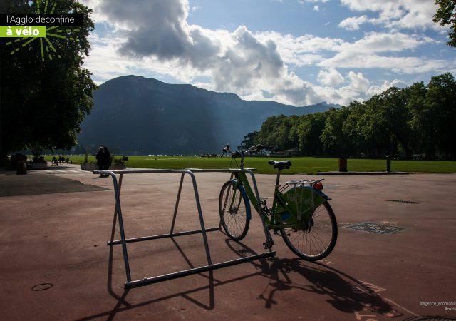 rack mobile pour stationner les vélos à Annecy
