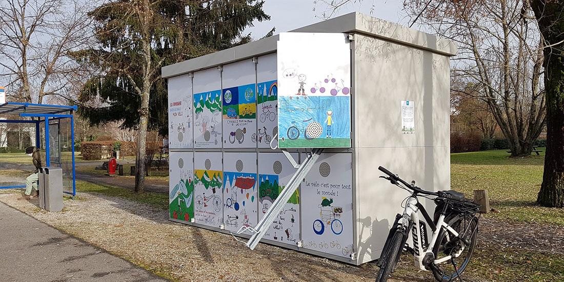 garage vélo sécurisé ALTAO Duplex personnalisé