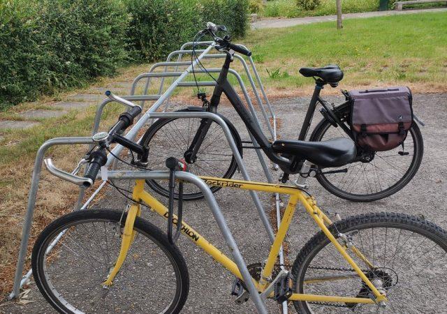 nouveaux racks de stationnement vélos ALTAO Mobile installés Lille