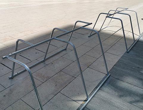 places de stationnement vélos supplémentaires