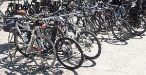bornes vélos provisoires Altinnova à Paris