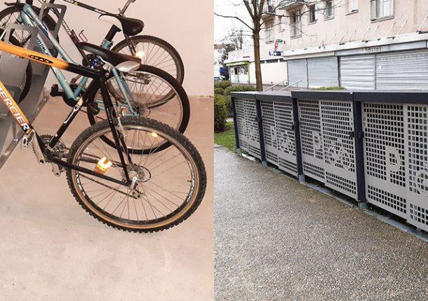 local vélos et box de stationnement installés par Altinnova pour Valophis