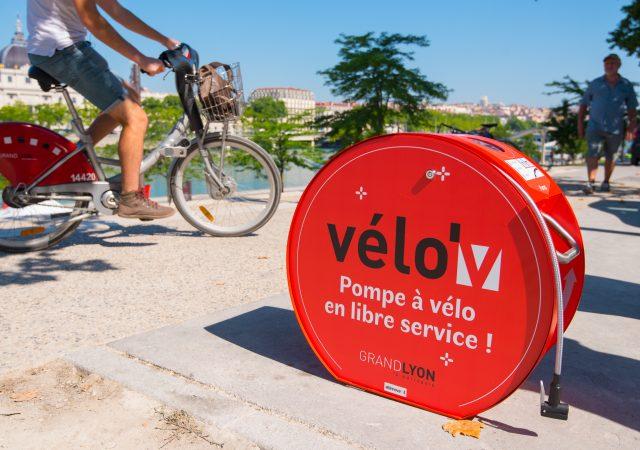 Station de gonflage vélo ALTAO Pump à Lyon
