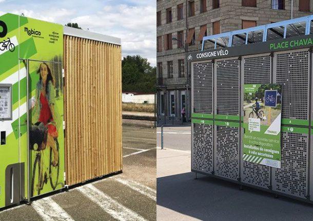 Exemples d'abris vélos solaires et innovants d'ALTINNOVA