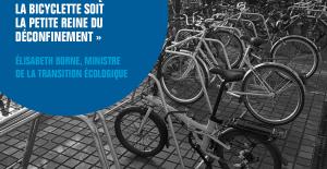 article French Fab sur le plan vélo avec un parking vélos Altinnova
